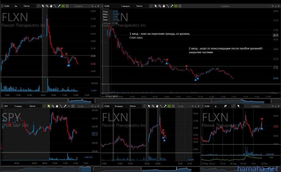 FLXN. Пока самый лучший трейд
