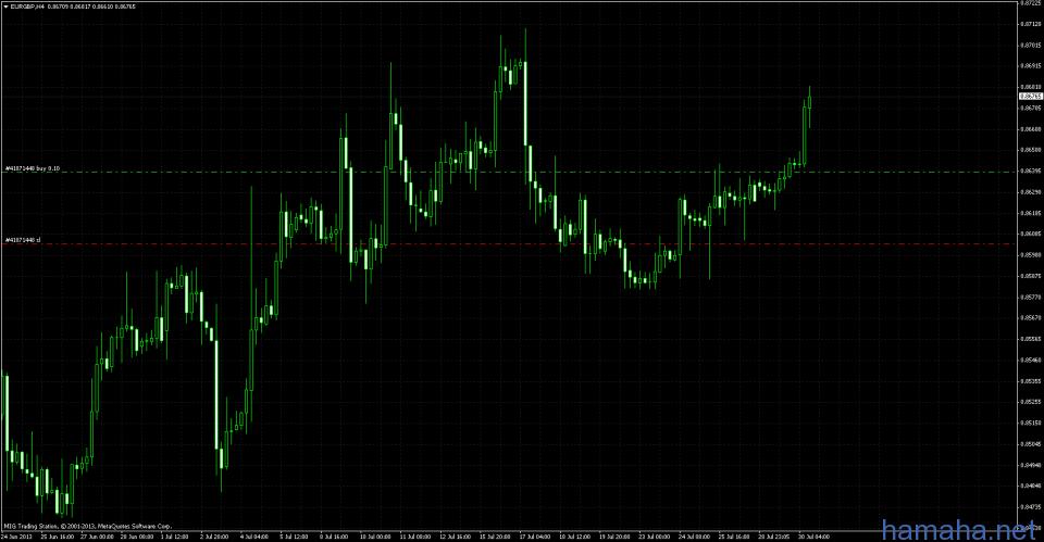 eur/gbp  buy 0.8639 m tp:0.9000 , sl will be