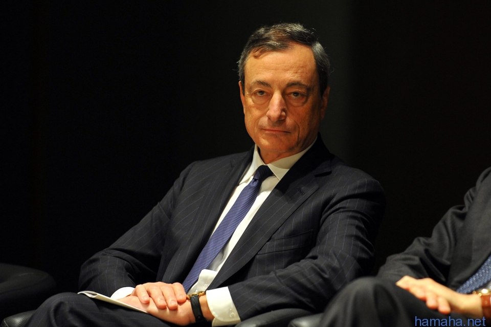 Mario Draghi, Президент