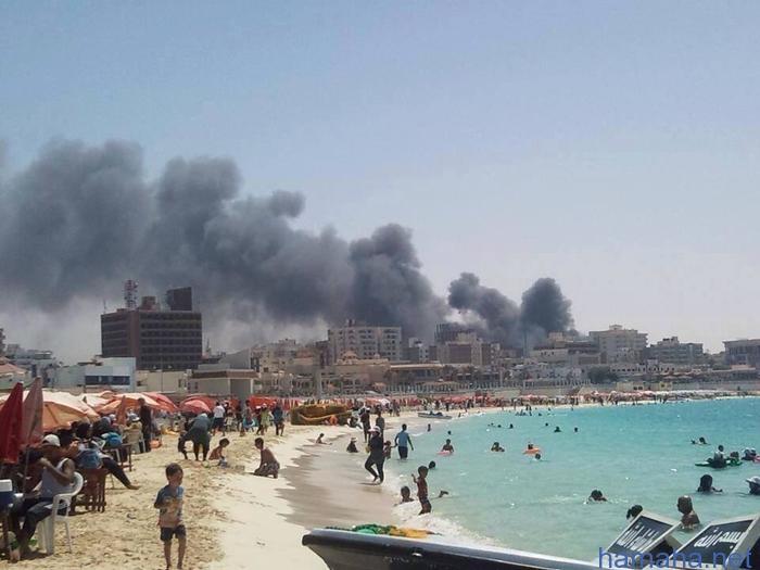 Насчет Египта, где убито