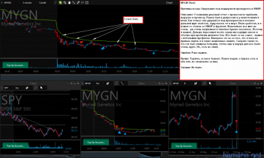 *REAL, *MYGN Shorts in-play